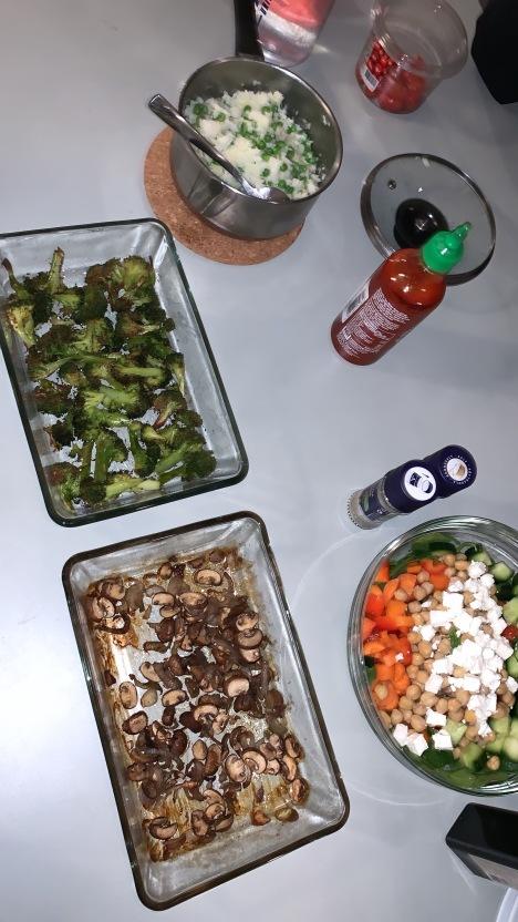 home-made dinner